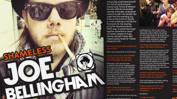 Joe Bellingham DJ Interview Hammarica PR 657 DJ Agency Electronic Dance Music News