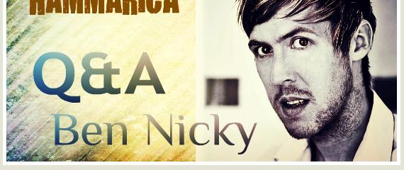 Hammarica Chats With UK EDM Star Ben Nicky
