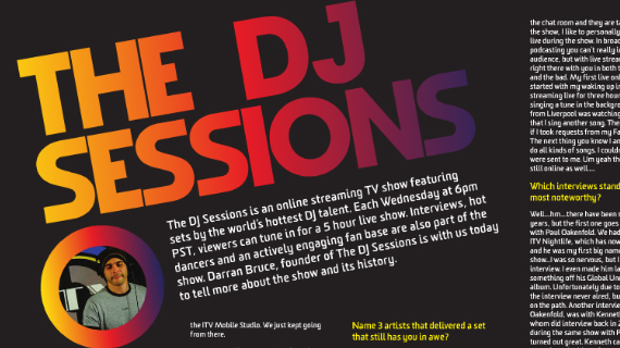 DJ ITV: BE PREPARED FOR ANYTHING TO HAPPEN