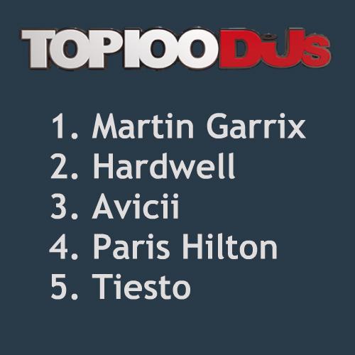 PARIS HILTON RUMORED TO ENTER DJ MAG TOP 5