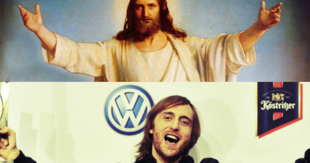 DAVID GUETTA CLAIMED TO BE JESUS