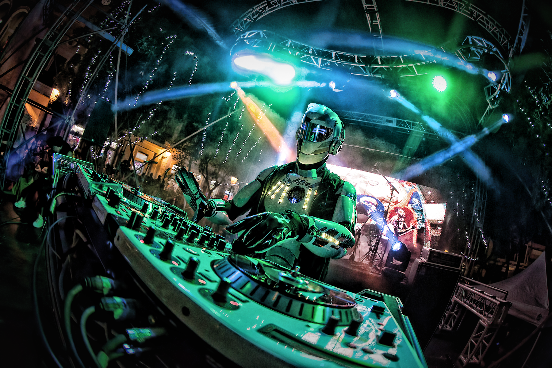 THIS DJ BUILDS HIS OWN ROBOT SUITS AND SPACESHIP BOOTHS