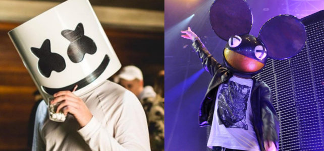 YOUNG FAN ANGRY DEADMAU5 STOLE THE MASK IDEA FROM MARSHMELLO